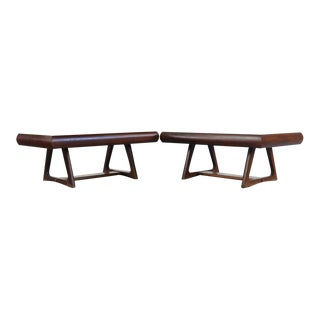 1960s Mid Century Modern Walnut Coffee Tables - a Pair For Sale