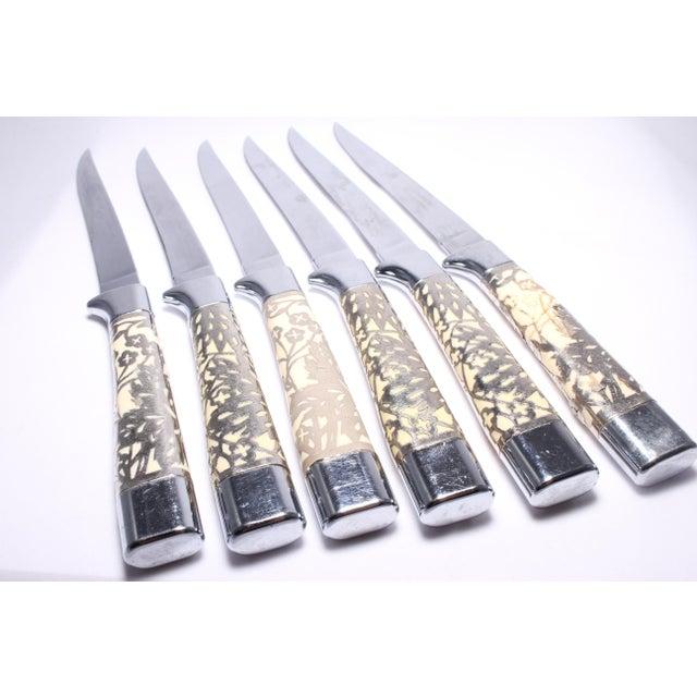 Mid-Century Modern Briddell Carvel Hall Steaks Knives - Set of 6 For Sale - Image 3 of 10
