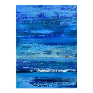 Contemporary Abstract Coastal Painting For Sale