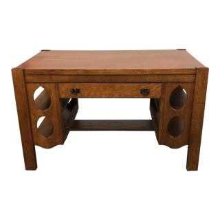 Vintage Arts and Crafts Architects Desk