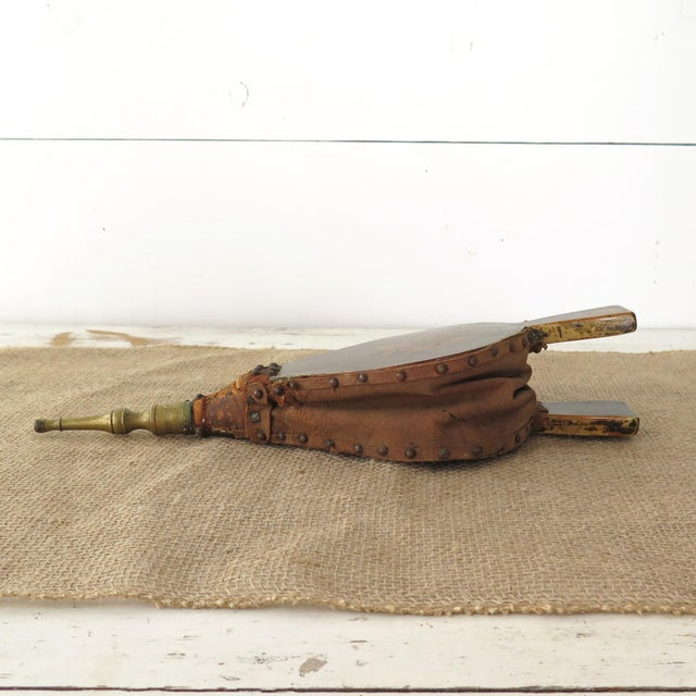 Antique Fireplace Bellows - Image 8 of 10