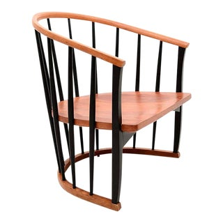 Spindle Chair Attributed to Tapiovaara For Sale
