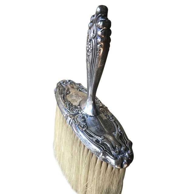 Traditional Tiffany & Co. Silver Grooming & Vanity Brush For Sale - Image 3 of 6