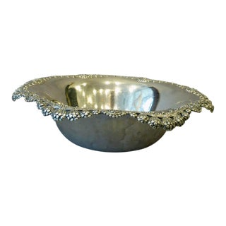 Tiffany & Co. Silver Hollowware Clover Pattern Bowl For Sale