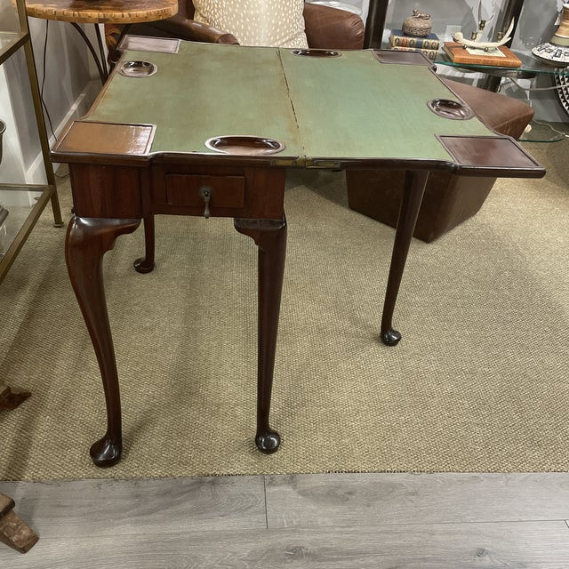 Antique Queen Anne Game Table For Sale - Image 13 of 13