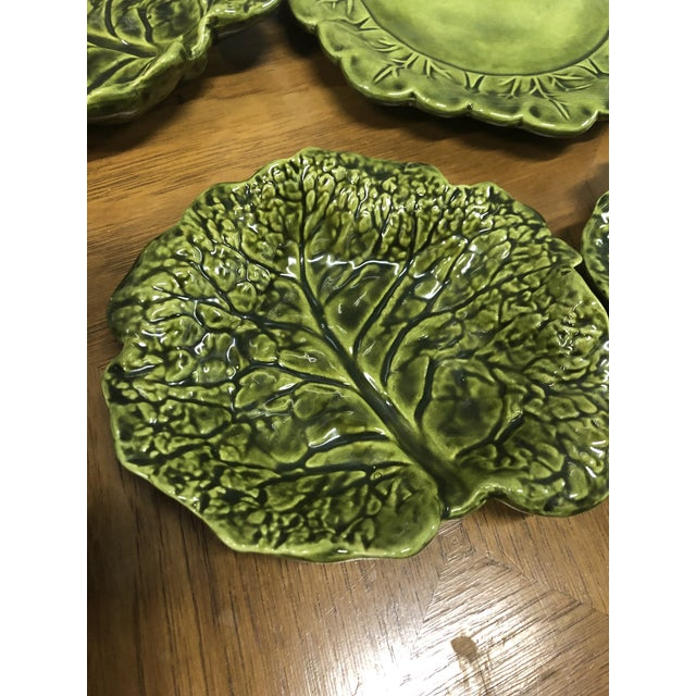 Holland Ceramics Cabbage Soup Tureen With Sharable Plates - 4 Pieces For Sale - Image 9 of 12