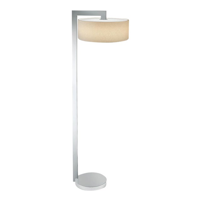 Chicago Lamp in Polished Chrome For Sale