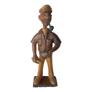 Vintage Carved Yachtsman For Sale