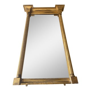 George III Gilt Pier Mirror For Sale
