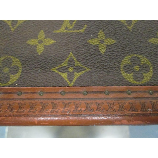 Louis Vuitton Vintage Hat Box For Sale In New York - Image 6 of 10