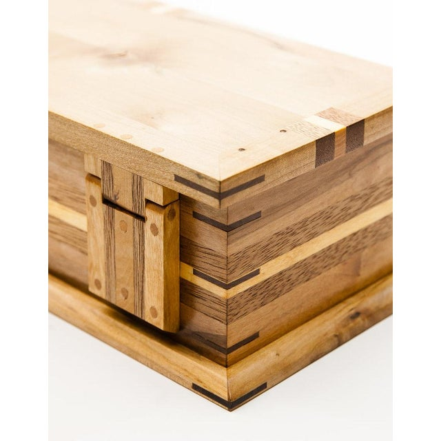 """Wood Lawrence & Scott Master Series Jewelry Box 15 3/4"""" For Sale - Image 7 of 13"""