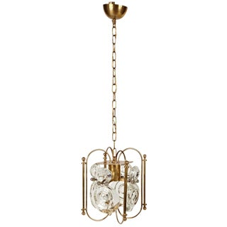 Gaetano Sciolari Lantern Chandelier For Sale