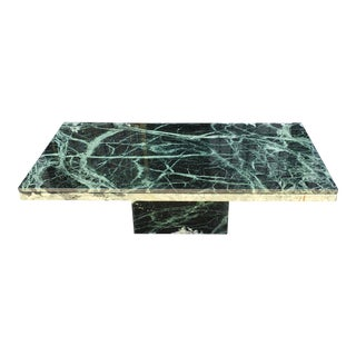 Verde Green Marble Coffee Table For Sale