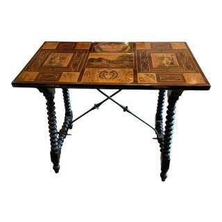 Spanish Side Table, circa 1890 For Sale