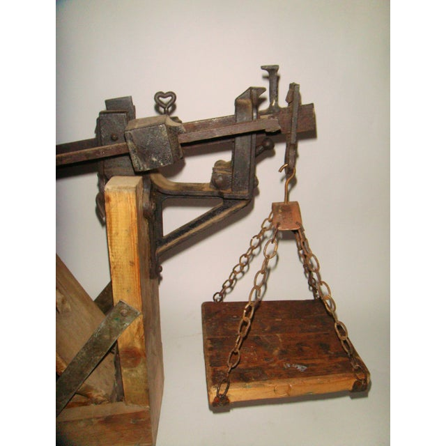 19th Century Swedish Weighing Scale - Image 5 of 7