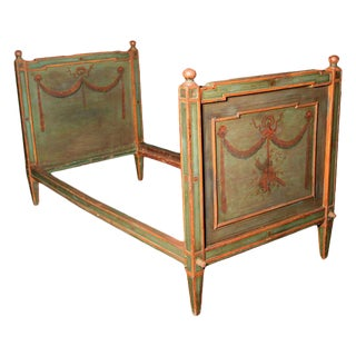 Venetian Painted Day Bed For Sale