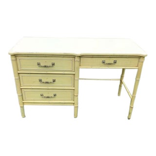 Antique Henry Link Boho Bali Hai Desk For Sale