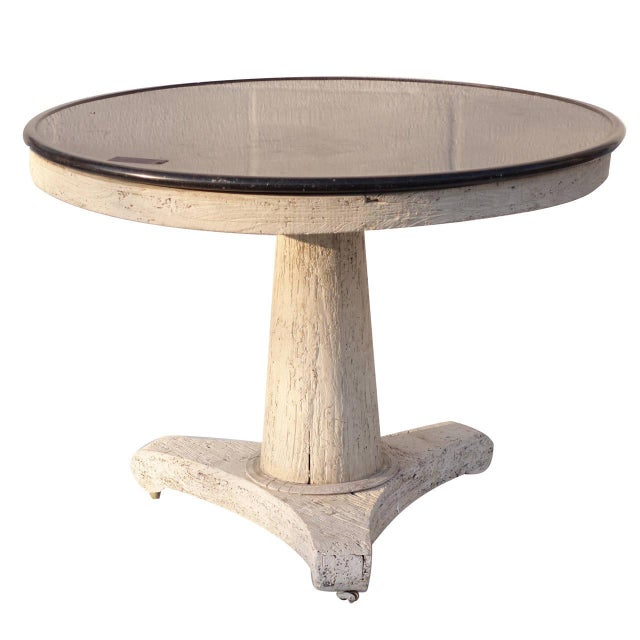 English Country Home French Oak Pedestal Table For Sale - Image 4 of 4