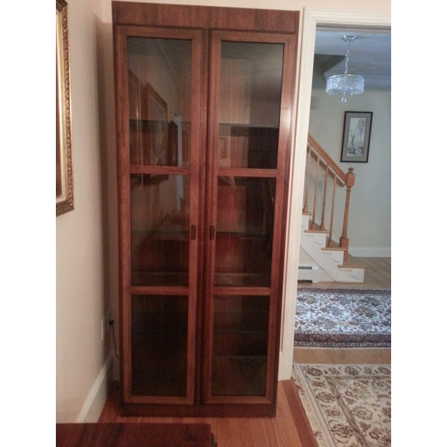 Mid-Century Modern Founders Crystal Cabinet - Image 2 of 8