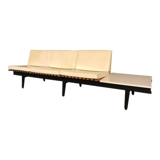 1950s George Nelson for Herman Miller Modular Steelframe Sofa + Table For Sale