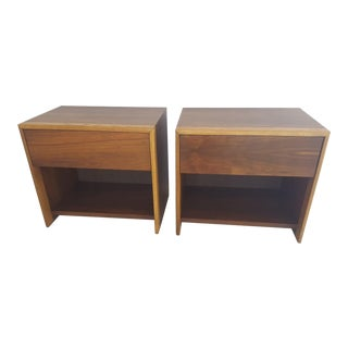 Mid Century Modern Nightstands - a Pair For Sale