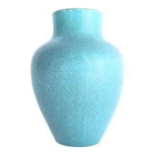 1920s Rookwood Turquoise Matte Speckle Glaze Vase For Sale