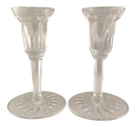 Image of Waterford Crystal Candle Holders