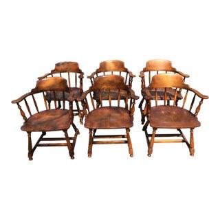 Barnard & Simonds Armchairs - Set of 6 For Sale