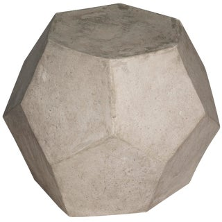Geometry Side Table/Stool, Fiber Cement For Sale