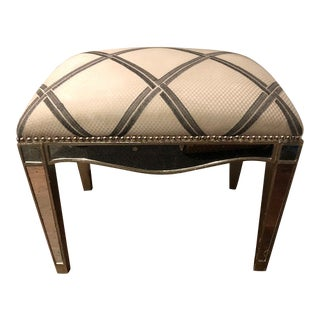 1930's Vintage French Ottoman For Sale