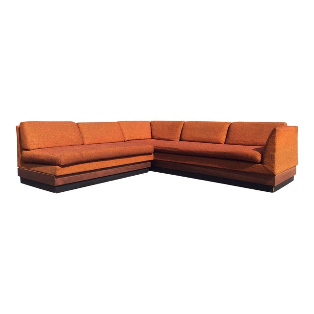 Adrian Pearsall Sectional Sofa Craft Associates For Sale