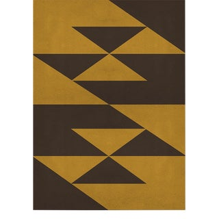 Origami Geometric Rug From Covet Paris - 6′7″ × 9′10″ For Sale