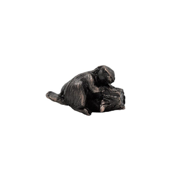 Our beaver cabinet knob was originally sculpted by a local artist for Timber Bronze 53. 5 TO 6 WEEK LEAD TIME IF NOT IN...