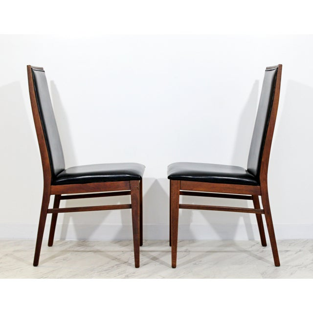 Mid Century Modern Milo Baughman Directional Dining Table Dillinghman 6 Chairs For Sale In Detroit - Image 6 of 12