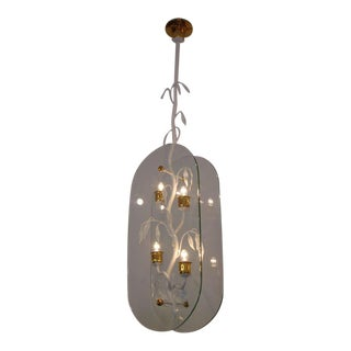 Exquisite French Floral Branch Hanging Light