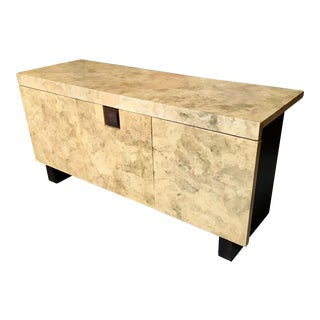 20th Century Parchment Credenza For Sale