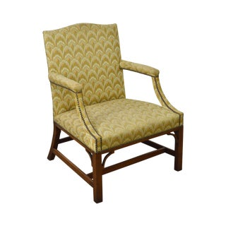 Kittinger Colonial Williamsburg Chippendale George II Style Arm Chair For Sale
