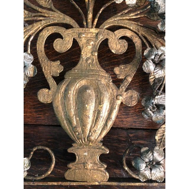 17th Century Italian Silver & Gold Gilt Metal 11 Light Candelabrum For Sale - Image 9 of 13