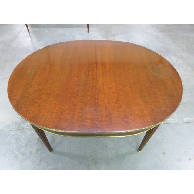Louis XVI Style Bronze Mounted Dining Table - Image 6 of 8