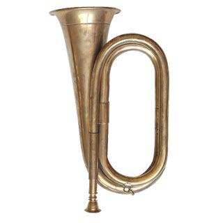 Vintage Brass Bugle For Sale