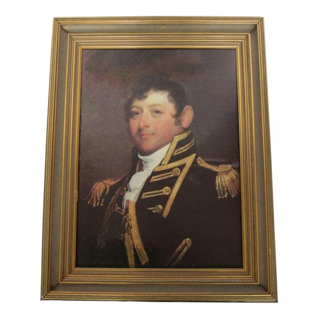 Revolutionary War Commodore Portrait - Image 1 of 10