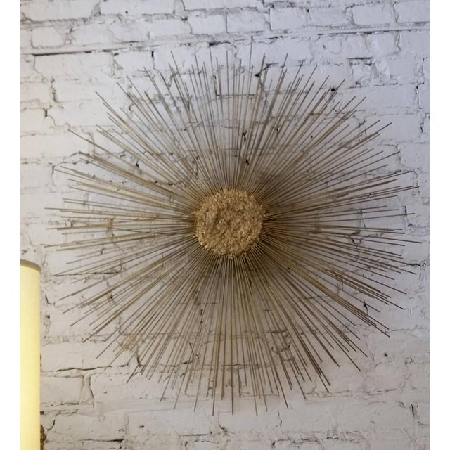 William Friedle Curtis Jere Style Starburst Wall Sculpture by Bruce & William Friedle For Sale - Image 4 of 8