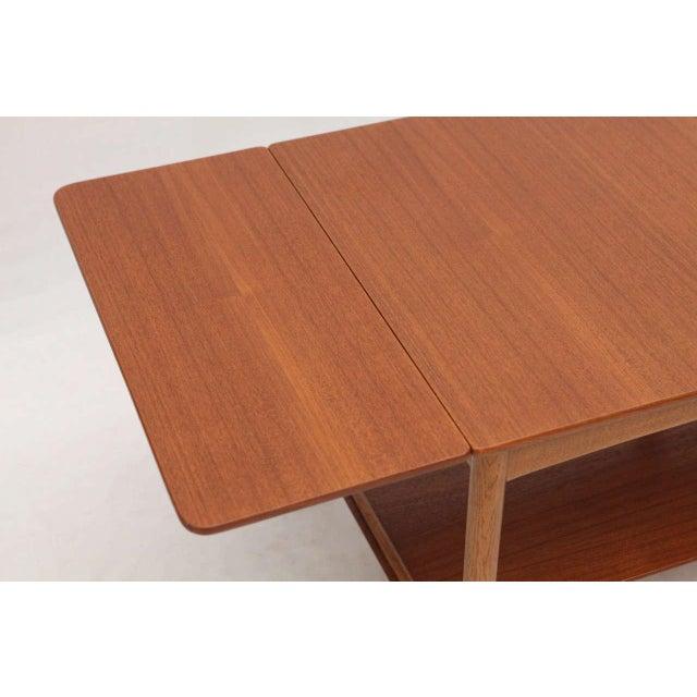 Hans Wegner Drop Leaf Side Table - Image 8 of 9