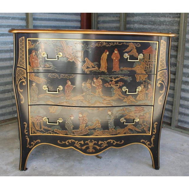 Drexel Et Cetera Chinoiserie Chest of Drawers For Sale - Image 11 of 11