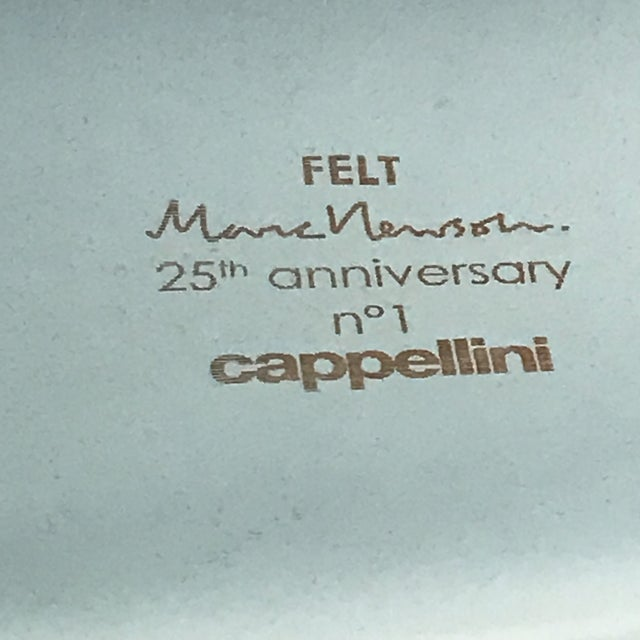 Animal Skin 25th Anniversary Marc Newson Felt Chair For Sale - Image 7 of 8