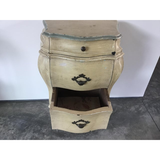 French Bombay Style Night Stand For Sale - Image 4 of 11