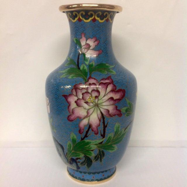 Meiji Japanese Cloisonné Vase - Image 2 of 9