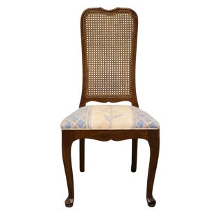 Late 20th Century Vintage Davis Cabinet Co. Cherry Dining Chair For Sale