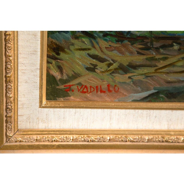 Francisco Vadillo Vintage Spanish Oil Painting For Sale - Image 7 of 8
