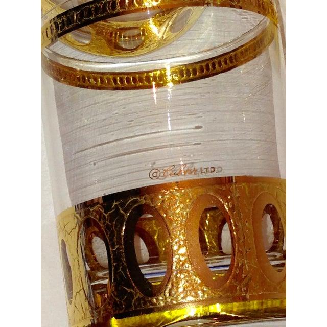 Culver Gold Cased Rocks Glasses - Set of 6 - Image 3 of 4